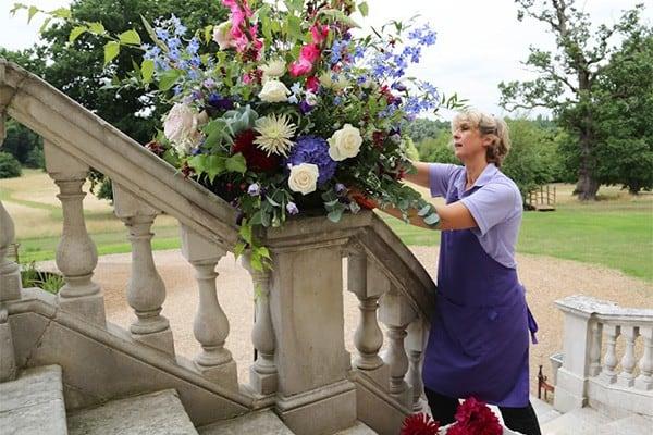 Louise Avery hampshire wedding florist