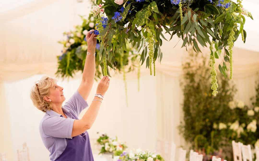 Hampshire wedding florist-The story of Louise Avery, in words and flowers