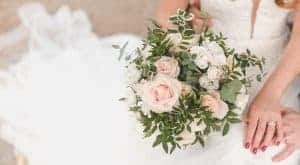 Brides bouquet - image courtesy of My Beautiful Now Photography Seasonal wedding flowers
