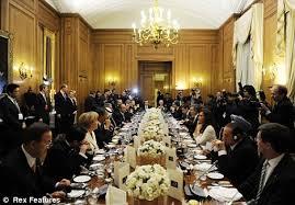 10 Downing Street - Dinner
