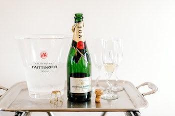 celebration bottle of champagne