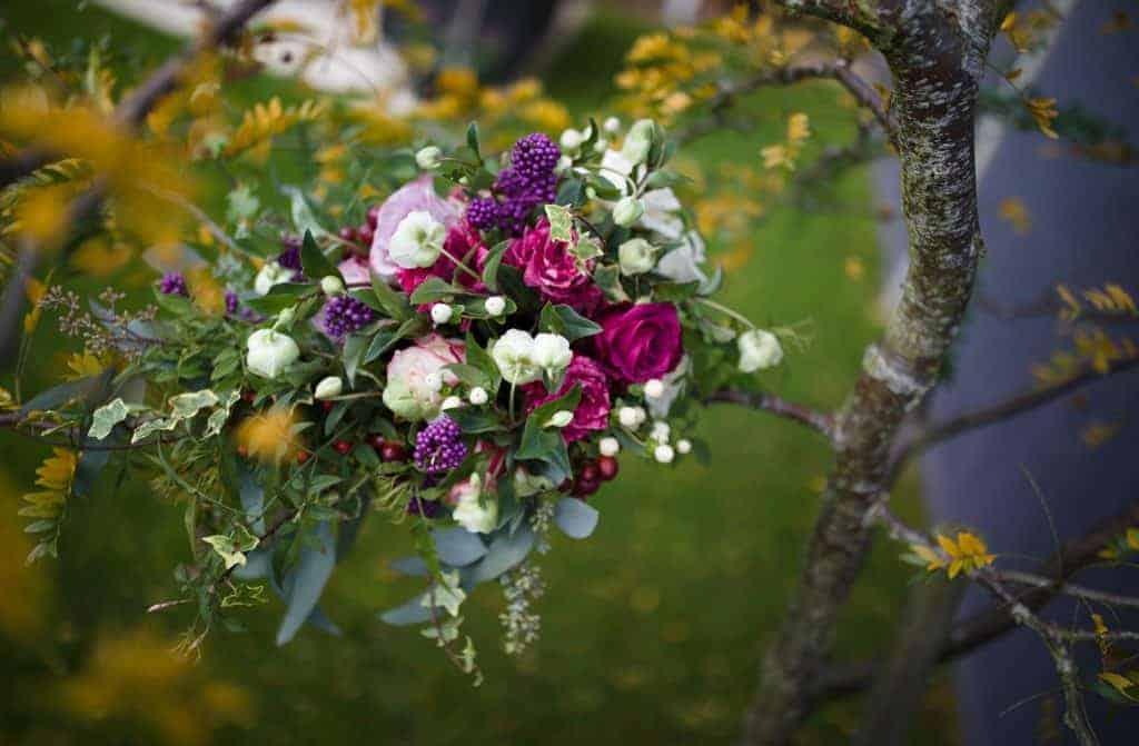 Autumn Brides bouquet