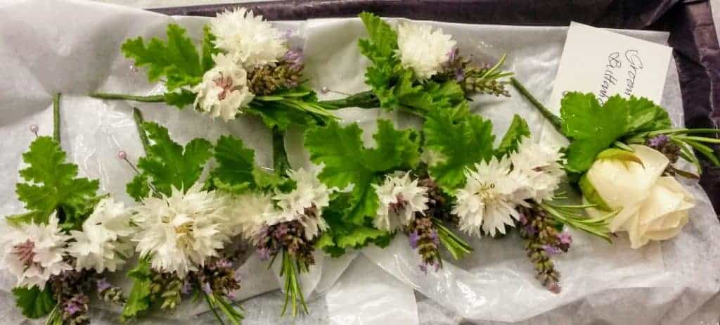 white country buttonholes