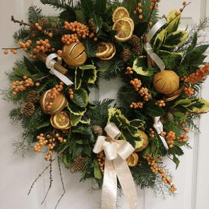 Hampshire web-shop Christmas Door Wreath