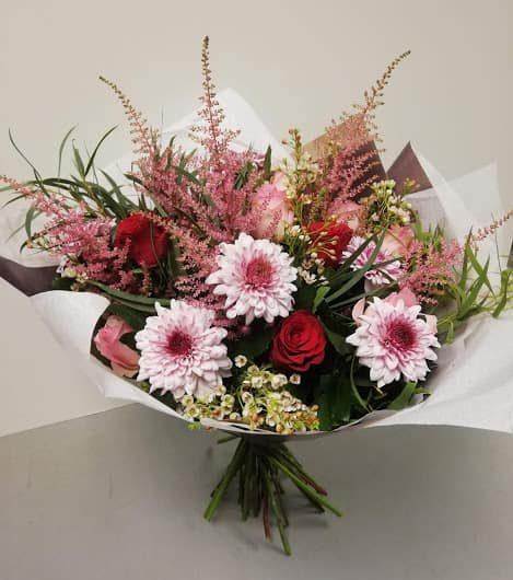 Hampshire floral web-shop gift bouquet